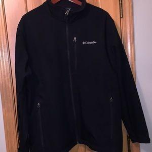 Columbia Men's Black Jacket 2X